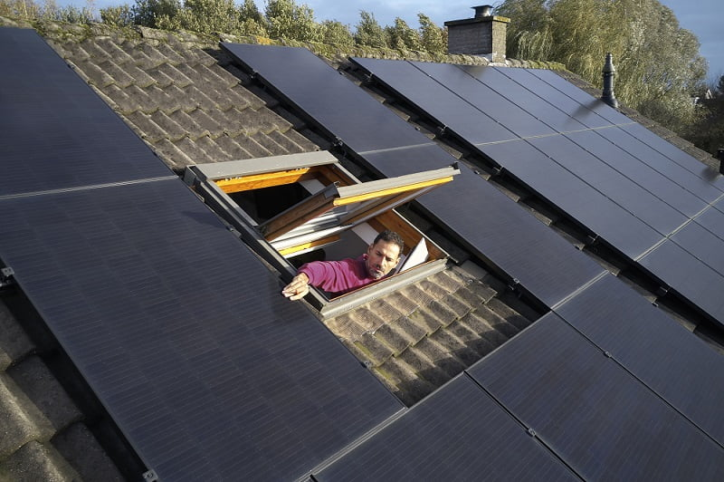 zonnepanelen controleren